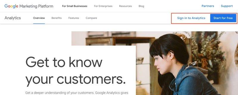 Use Google Analytics for WordPress website