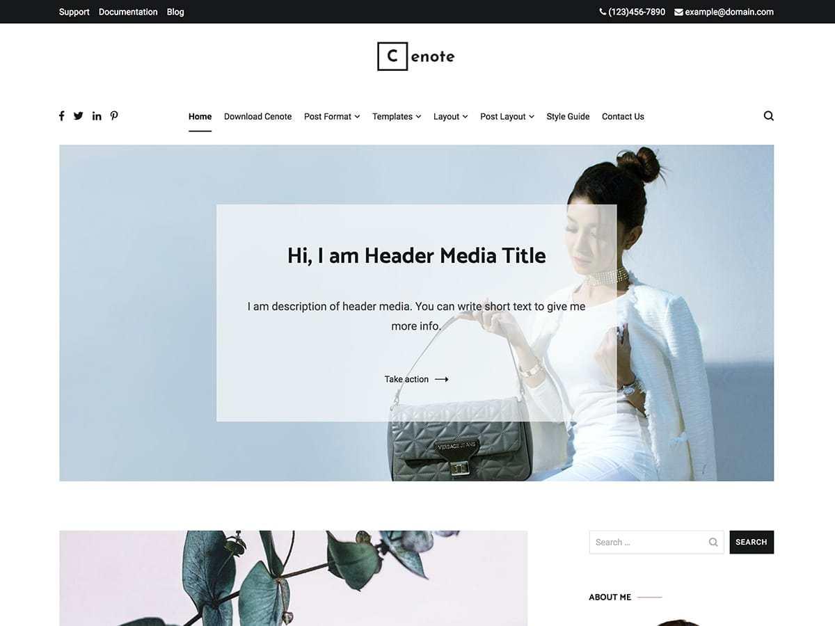 cenote-blog-theme