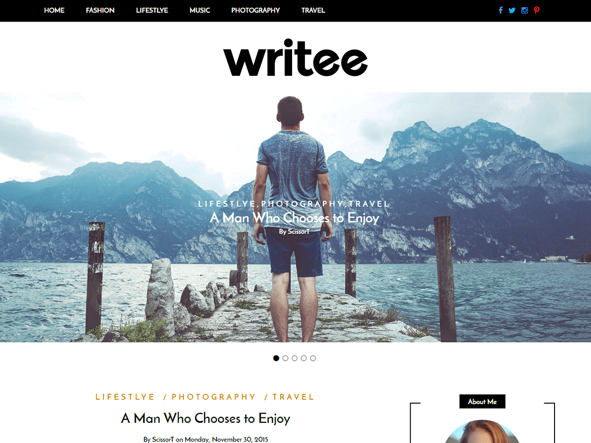 writee-best-blogging-theme