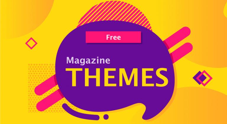 Free Magazine WordPress Themes
