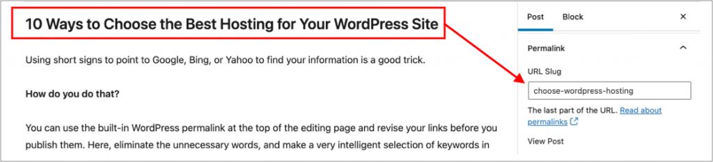 WordPress permalink clean up